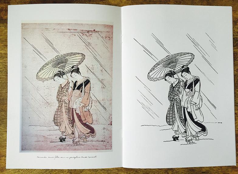 cahier de coloriage Hermes